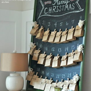 DIY Christmas Countdown Advent Calendar Ideas for 2019